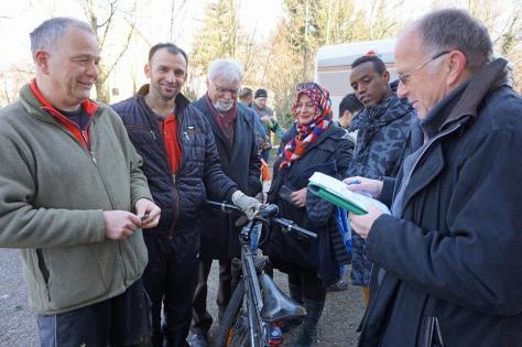 Freundeskreis Flüchtlinge Sachspenden
