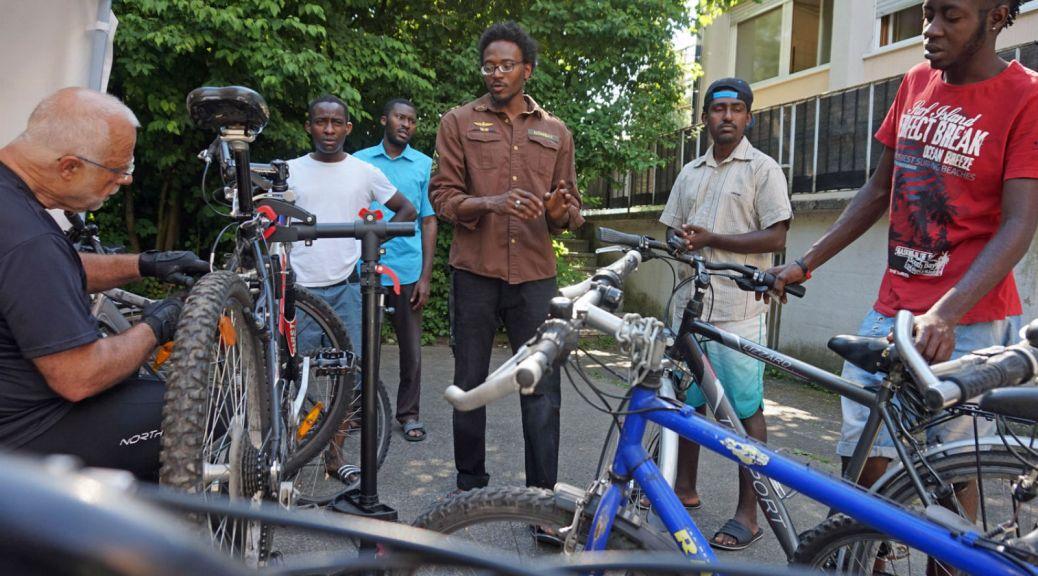 Fahrrad-Aktion