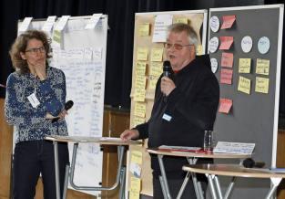 Lahr Kommunaler Flüchtlingsdialog im MPG Vorstellung