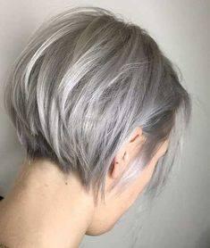 Kallgrå hårfärg