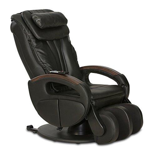 aktivshop Massagesessel »Komfort Deluxe« mit Shiatsu-Massagefunktion und Transportrollen Relaxsessel (Schwarz)