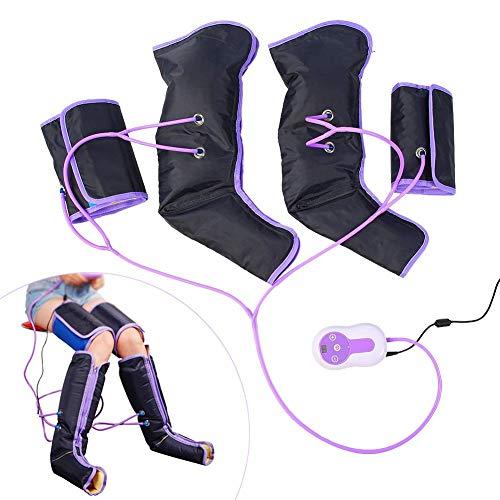 Kompressionsmassagegerät für die Beine, Luftkompresse, Blut- und Lymphsystem, Regenbogenstiefel