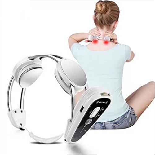 SinceY Massageroller für den Nacken, Massagegerät, intelligente Ladung, mit Wärme-Funktion und USB-Schnittstelle