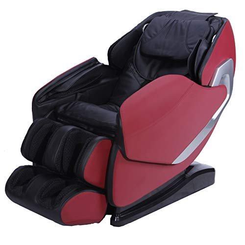 Rikmani Relax-Sessel S7000LX - 3D Massage-Sessel mit Wärmefunktion ? Shiatsu Relaxsessel ? TV Sessel und Rücken-Massagegerät (Modell 2019)