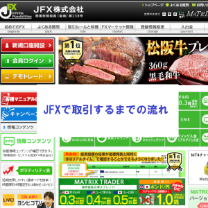 JFXで取引するまでの流れ