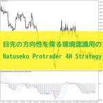 目先の方向性を探る環境認識用のNatuseko Protrader 4H Strategy