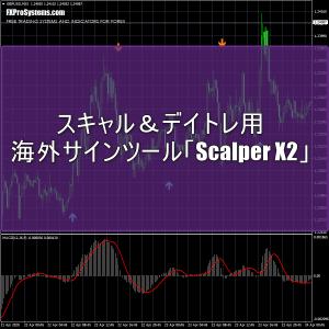 スキャル&デイトレ用の海外サインツール「Scalper X2」の使い方