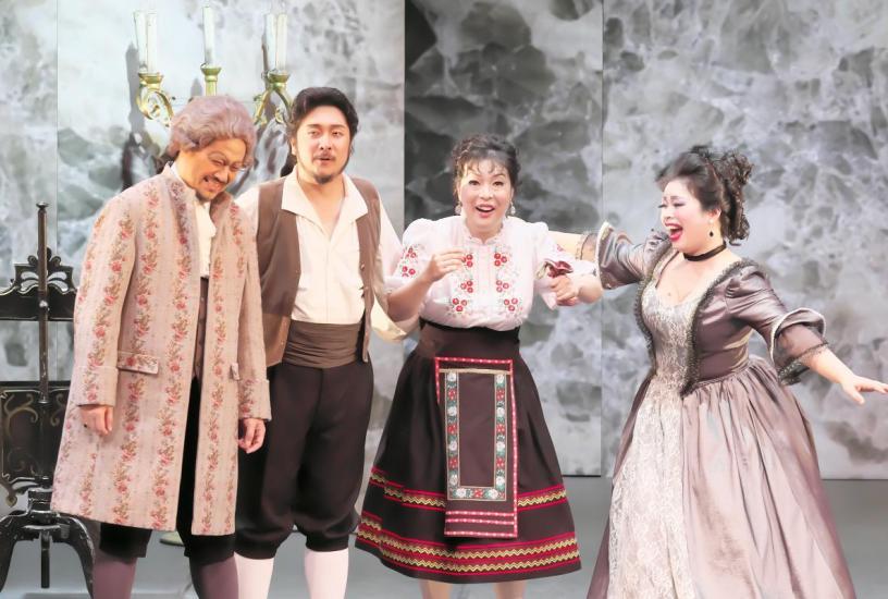 足利オペラリリカ公演《フィガロの結婚》より