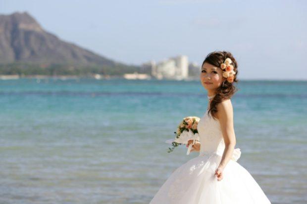 桃 結婚式