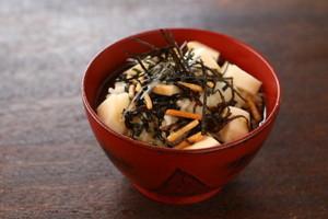 スカモルツァ。(しょうゆ)のお茶漬け