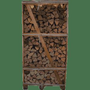 Pejsebrænde af fintkløvet ask – Brændetårn