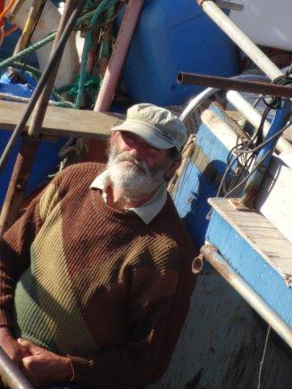 Fischer auf Salina