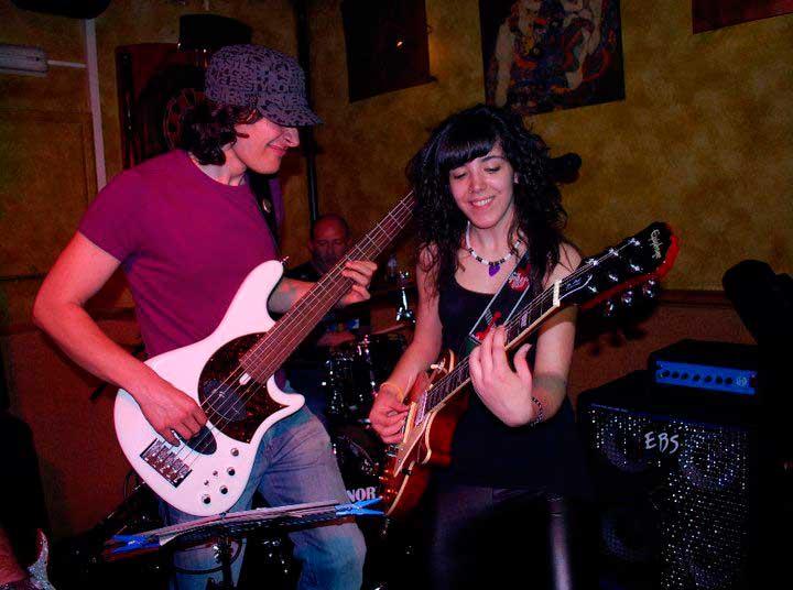 Cristina Morgado y Ruben Rubio