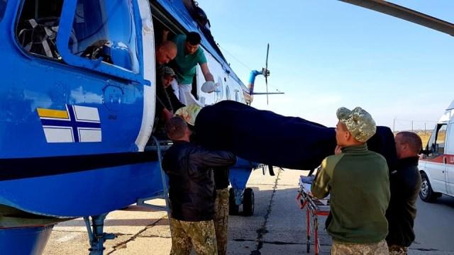 Попал в ДТП: в одесский госпиталь доставили бойца в коме. Фото