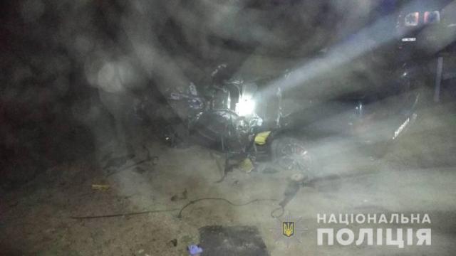 Съехал в кювет и перевернулся: в полиции раскрыли подробности ночного ДТП на трассе Одесса-Рени. Фото