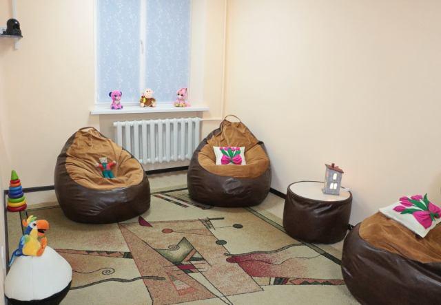 В Одессе открыли комнату дружественного опроса детей, пострадавших от домашнего насилия. Фото
