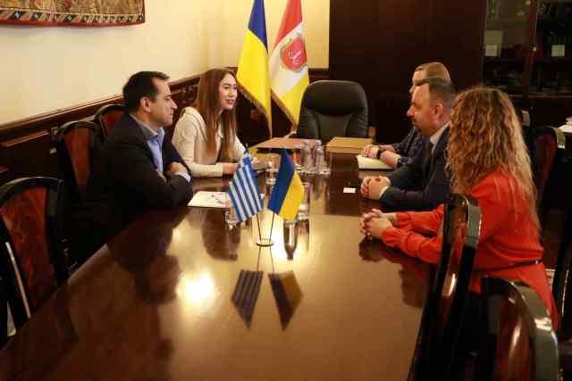 Одессу посетила официальная делегация из Салоников