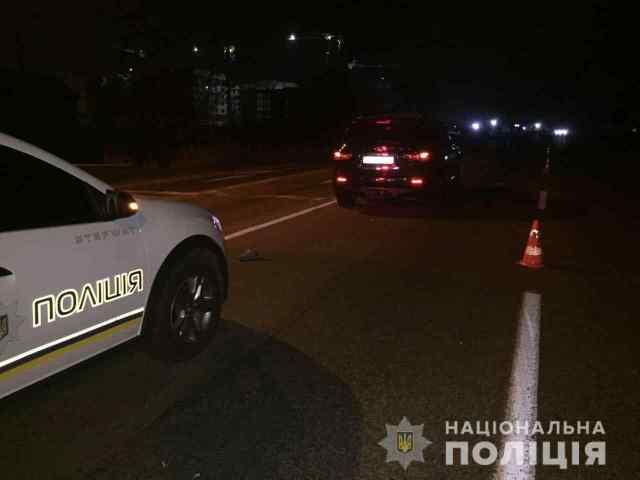 Под Одессой иномарка насмерть сбила пешехода, который перебегал дорогу. Фото