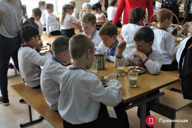 За питание школьников в Малиновском районе Одессы заплатят почти 15 млн грн