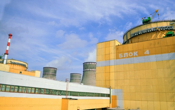 На Ровенской АЭС подключили резервный энергоблок