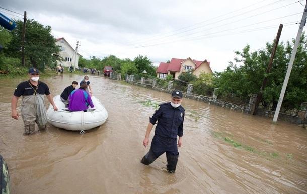 На Прикарпатье подсчитали ущерб от наводнения