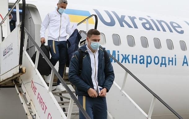 В сборной Украины нет больных Covid-19 после возвращения из Швейцарии