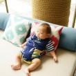 赤ちゃんのリビングの居場所づくりをしよう