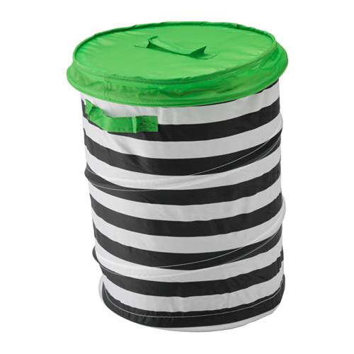 IKEAのバスケット型の折り畳みボックスおもちゃ収納におすすめ