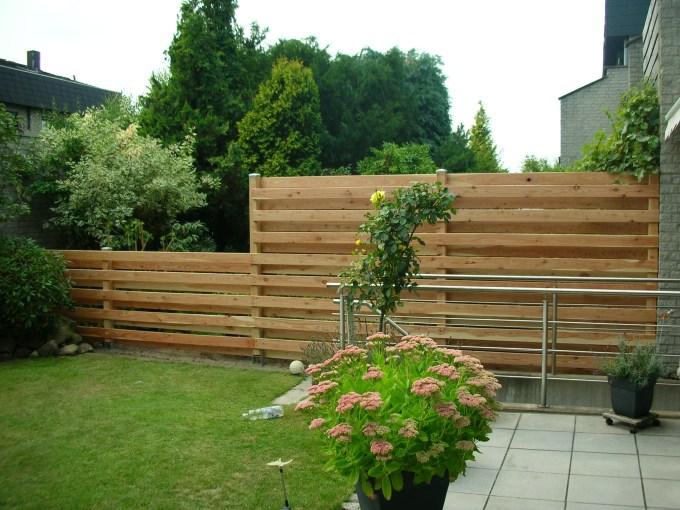 Gartengestaltung - Zaun