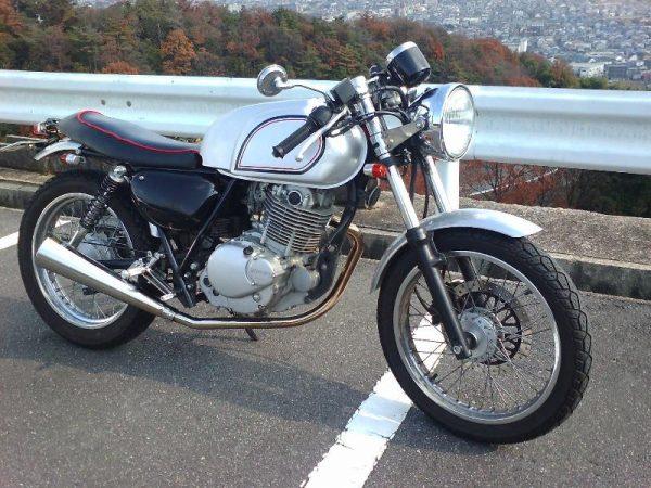 ST250カフェレーサーカスタム