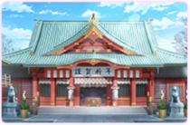 神社・本殿[正月]