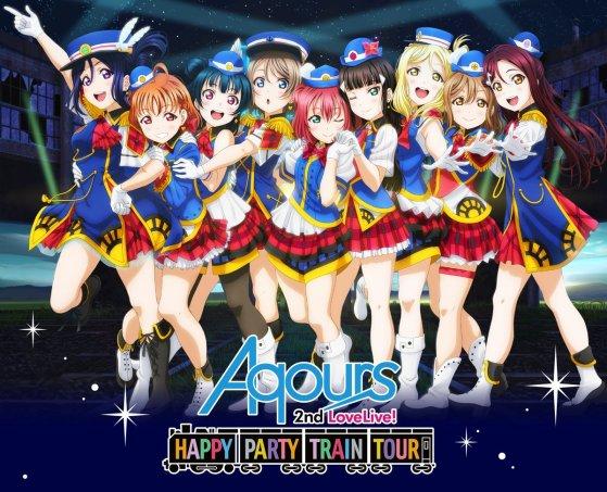 Aqours 2nd LIVE Blu-ray:DVD