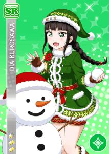 黒澤ダイヤSR<クリスマスプレゼント編>
