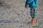 selbst genähte Hose, Henne Strand, Dänemark