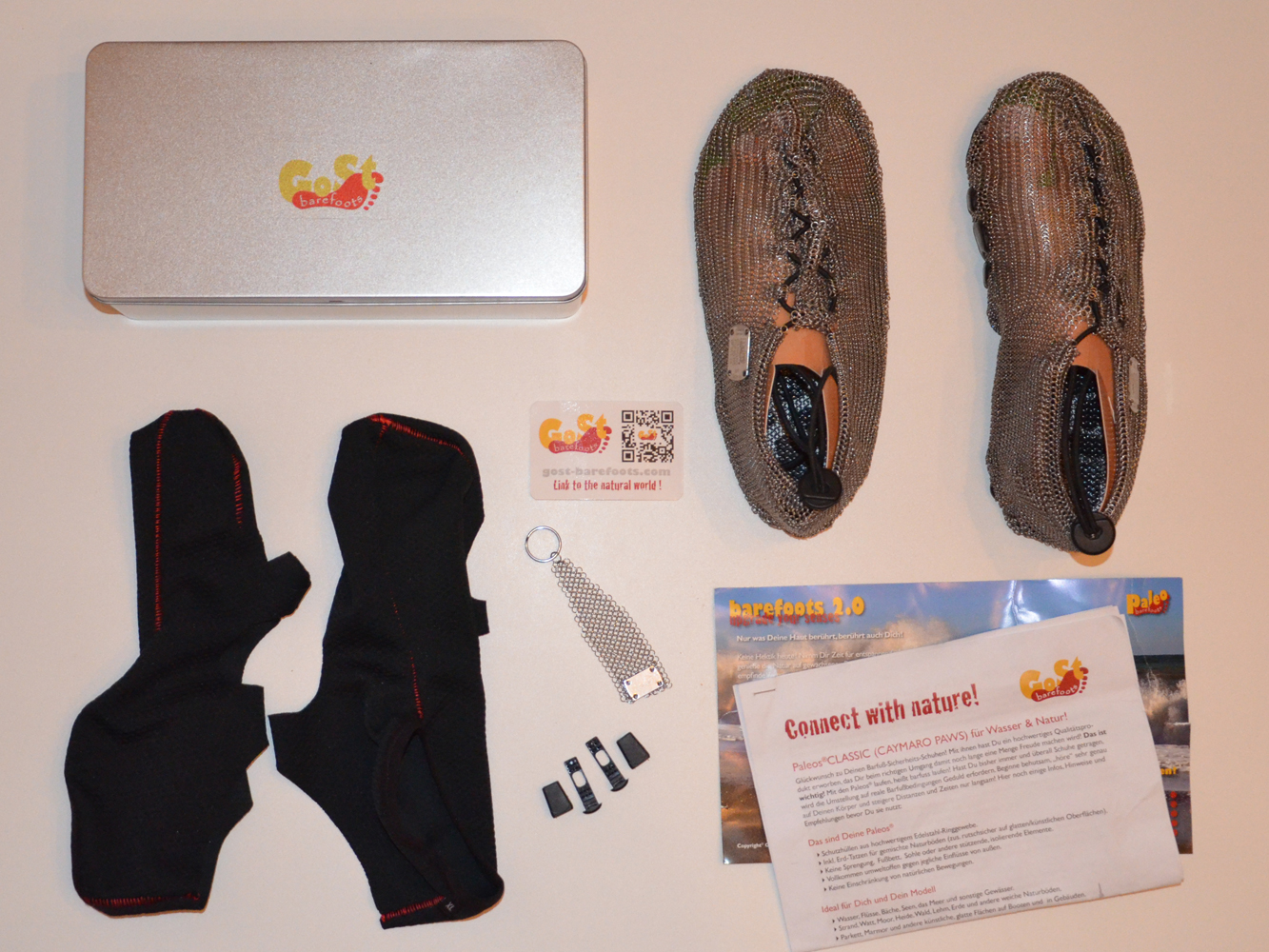 GoSt-Barefoots Paleos®CLASSIC - Unboxing