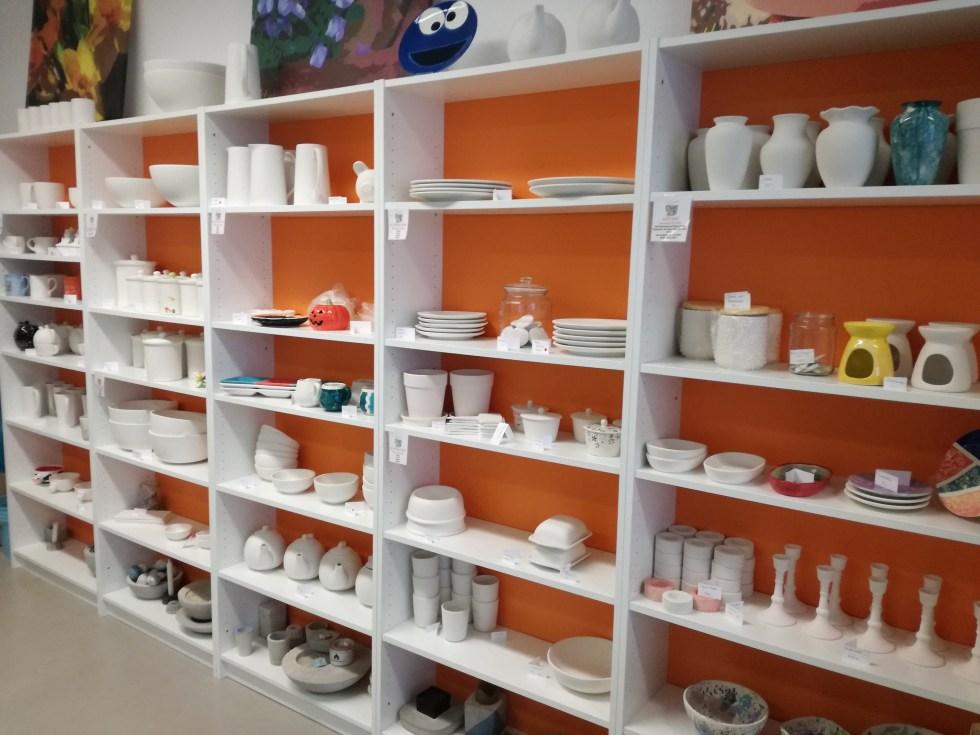 Keramik-Sortiment