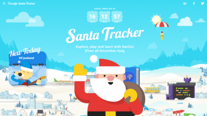 santa-tracker-village-with-santa