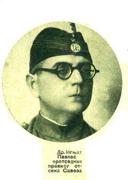 Сећање на др. Игњата Павласа, старешину Соколске жупе Нови Сад