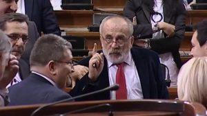 Миленко Вишњић: Скупштина Србије поприште борбе међу еврофанатицима