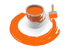 使用する塗料の材料を明確に記載しているか