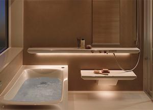 TOTOのバスルーム「シンラ」の新しい機能とリフォームするときの費用相場