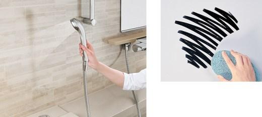 「ホーロークリーン浴室パネル」なら浴室の掃除が画期的に楽になる!