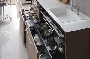 TOTOザ・クラッソは収納力が高く「料理や後片付け」しやすい設計!