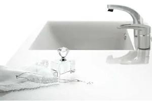 ティアリスの洗面ボウルは掃除しやすく汚れにくい人工大理石を使用!