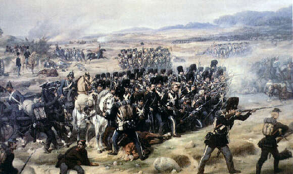 livgarden i slaget ved Isted