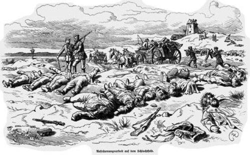 Hvor mange danske døde i krigen 1864?