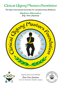 Clinical Qigong Masters Foundation