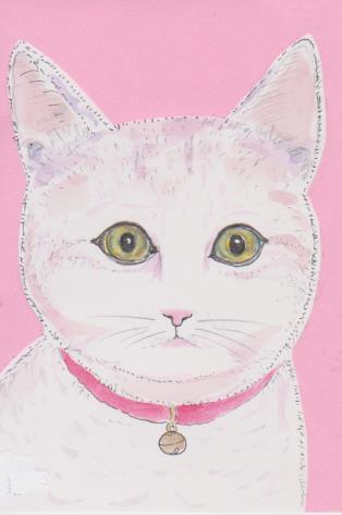 猫の絵ー42