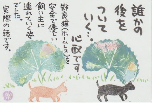 猫の絵ー51