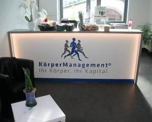 Empfangsbereich unseres Instituts in Bad Homburg
